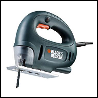 Электролобзик Black & Decker CD 301 K