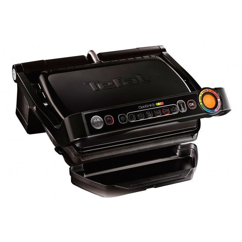 Электрогриль Tefal Optigrill + GC712D чёрный (GC712834)