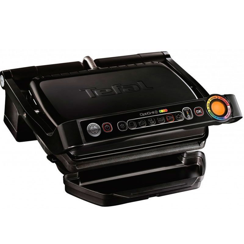 Электрогриль Tefal OptiGrill + GC714834 чёрный